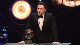Best actor winner Jack Parry-Jones