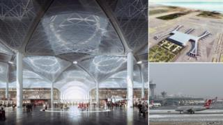 Istanbul airport now and in future