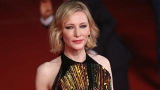 Cate Blanchett on the red carpet
