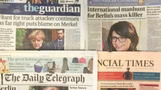 英国主要报纸