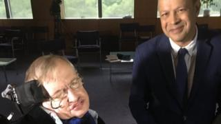 Pallab Ghosh and Stephen Hawking