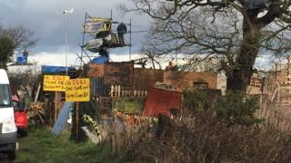 Upton anti-fracking site