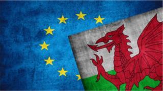 Fflag Cymru a'r UE