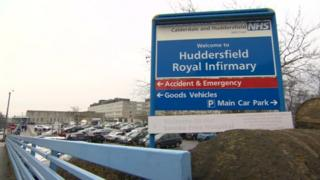 Huddersfield Royal Infirmary sign