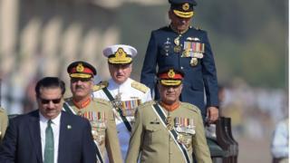 پاکستان کی مسلح افواج کے سربراہان