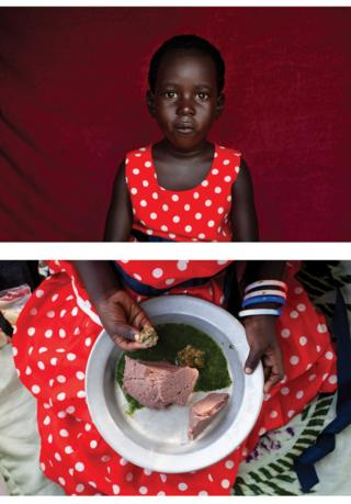 Photographers use portraits and still life to highlight hunger