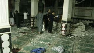 حمله داعش به مسجد جوادیه