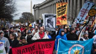 Protests over the Dakota Access Pipeline