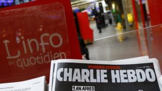 Charlie Hebdo anniversary edition