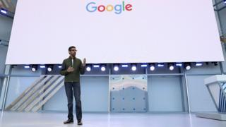 Google's chief executive reinforced the firm's push into AI