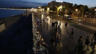 More than 80 people died when a lorry struck crowds celebrating Bastille Day on 14 July