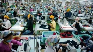 Quần áo của Campuchia vào EU chiếm 45% tổng sản lượng xuất khẩu năm ngoái của nước này