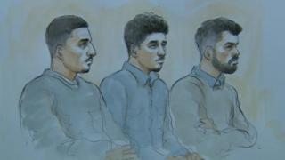 L-R Hizam, Sulayman, Qasem from Monday 19/11/18