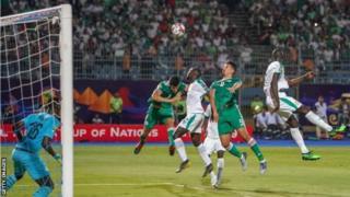 Aljeeriyaan kanaan dura Senegaaliin 1-0 mo'attee turte