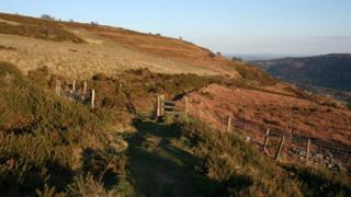 Panorama Walk near Llangollen