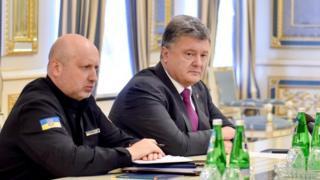 Совещание Порошенко с руководством силовых ведомств и МИД Украины.