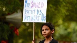 बलात्कार विरोध प्रदर्शन