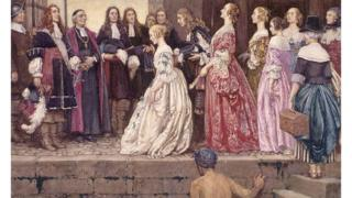 Pintura de Eleanor Fortescue-Brickdale en el Archivo de Canadá