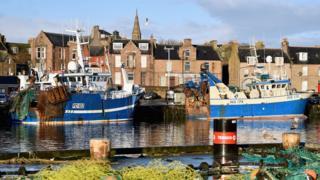 Peterhead harbour