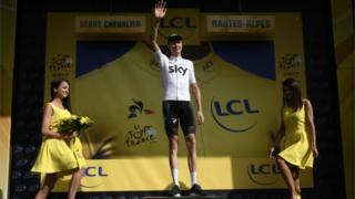Велосипедист Крис Фрум