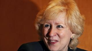 Former Canadian PM Kim Campbell criticises bare arms on newscasters