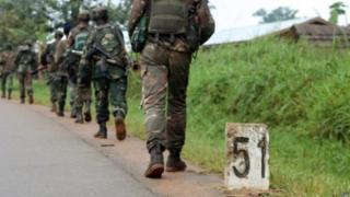Mu karere ka Beni hasanzwe hari ingabo za Congo n'iza ONU.