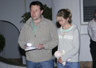 in_pictures Gerry and Kate McCann speak to the press on 4 May 2007 at the Ocean club apartment hotel in Praia de Luz in Lagos.