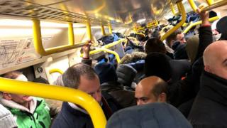 The 06:42 GMT Southeastern service between Bexleyheath and Charing Cross