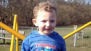 Jac, 4, died following a house fire on July 27