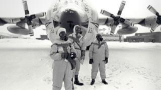 крушение космос-954