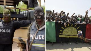 Ipob and Police