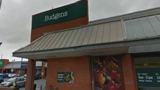 The Aberystwyth branch of Budgens