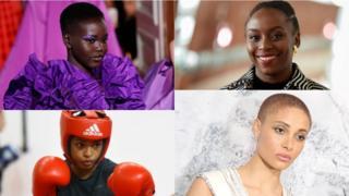 Adut Akech, Chimamanda Adichie, Ramla Ali and Adwoa Aboah