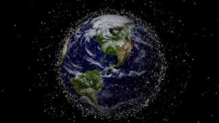 အာကာသအမှိုက်ကို ကွန်ပစ်ဖမ်းမယ်