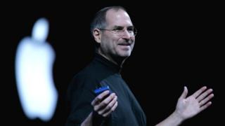 Steve Jobs durante una presentación, foto de archivo.
