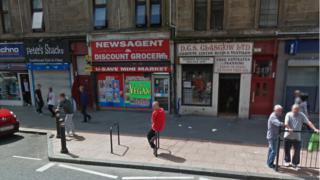 Usave in Sarcen Street, Glasgow