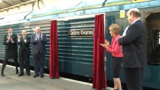 Nicola Sturgeon a' foillseachadh na seirbheis