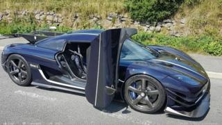 Koenigsegg sports car