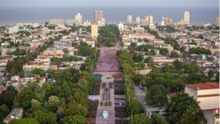 Празднование в Гаване Дня вооруженных сил