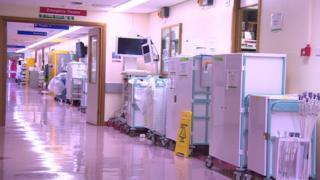 Warrington hospital theatre ward