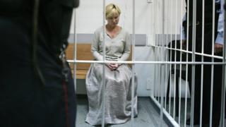 Елена Решетова в суде