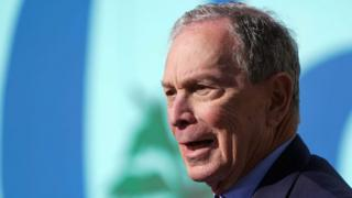 environment Presidential candidate Mike Bloomberg