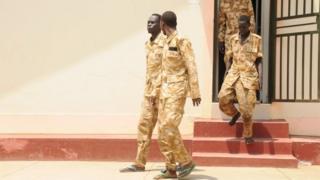 الجنود الأربعة الذين تم توقيفهم للاشتباه في تنفيذهم عمليات اغتصاب جماعي