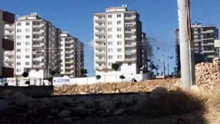 Burak Mahallesi'ndeki evde patlamanın meydana geldiği an