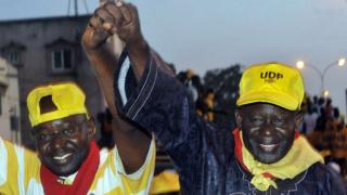 Ousainou Darboe was due to serve a three-year prison term