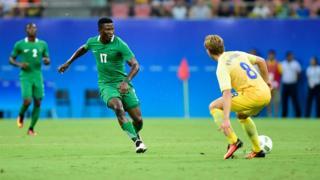 Nigeria central midfielder Usman Mohammed