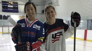 마리사(왼쪽)와 한나 자매는 각각 남북 단일팀, 미국 여자 아이스키 대표로 출전한다