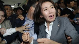 (캡션) 자유한국당 나경원 원내대표