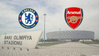 Chelsea, Arsenal, Bakı Olimpiya Stadionu