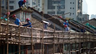 中国の住宅市場は経済全体の15%を占める